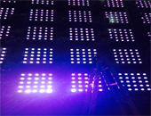 75Ps LED Matrix Blinder lights were used in Vietnam bar event
