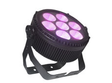 7pcs 25W RGBWA 5in1 LED Waterproof Light Walker