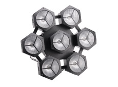 7pcs 40W LED Snowflake Light